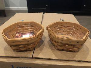 Longaberger Sage Baskets for Sale in Chandler, AZ