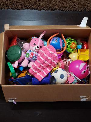Box of kids toys for Sale in Corona, CA