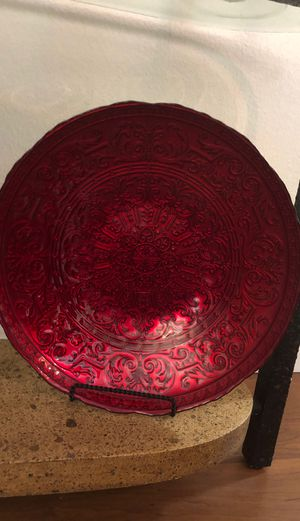 Red / Gold Bowl for Sale in Everett, WA