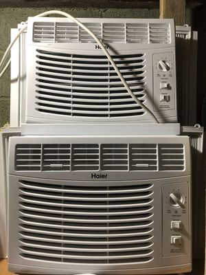 2 Haier Window AC for Sale in Dumont, NJ