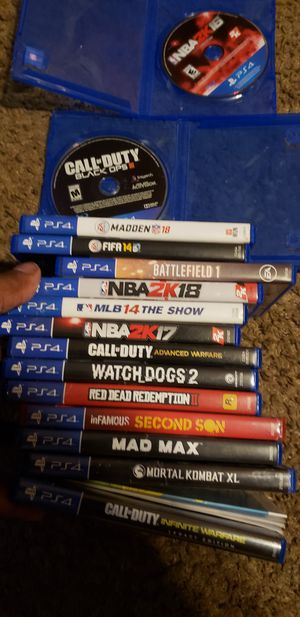 Ps4 games for Sale in Gulfport, MS