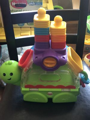 Fisher Price Little Turtle Stack and Spill for Sale in Goshen, NY