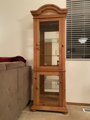 Curio Cabinet - Broyhill Fontana for Sale in Gig Harbor, WA