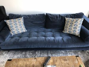 Article Furniture Blue Sven Sofa! Must go! Retail: $1300; On sale: $600 OBO! Must go ASAP! Great shape! for Sale in Chicago, IL