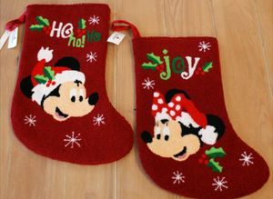 Disney Parks Mickey & Minnie Mouse Christmas Stocking Set for Sale in Spring Valley, CA