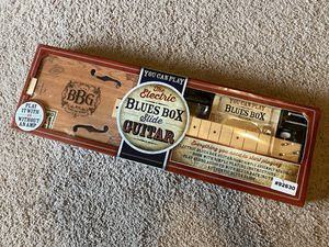 Electric Blues Box Slide Guitar for Sale in Arlington, TX