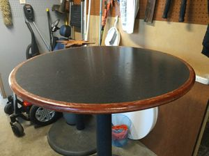 Bar stool restaurant table heavy duty great condition for Sale in Fresno, CA