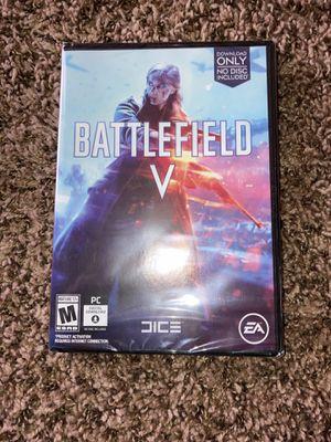 Battlefield V PC Download Only for Sale in Wichita, KS