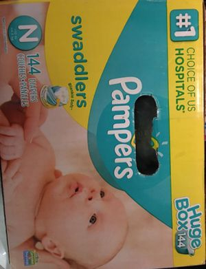 Pampers HUGE box- never opened for Sale in Frisco, TX