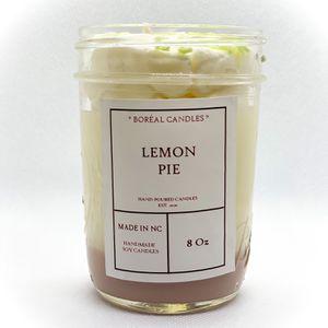Lemon Pie candle / Lemon Candle / citrus/ cistrus scented / citrus candle / scented candle 8oz for Sale in Raleigh, NC