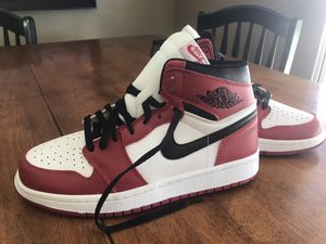 "Jordan Ones ""Chicago Reds"" Very Rare size 9.5 for Sale in Calexico, CA"
