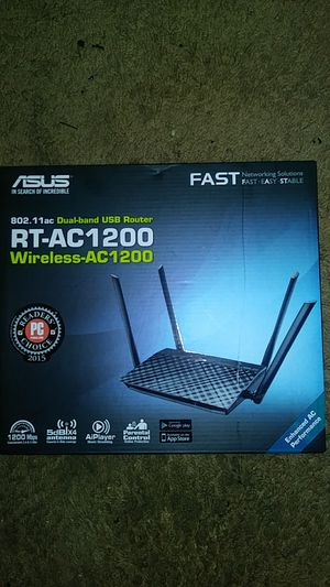 Asus wireless router for Sale in Arlington, TX