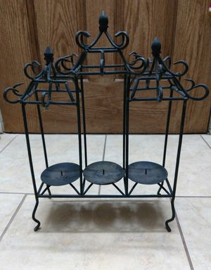 Wrought Iron Candle Holder $15 for Sale in San Antonio, TX