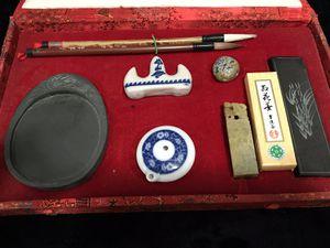 Asian Calligraphy Set for Sale in Phoenix, AZ