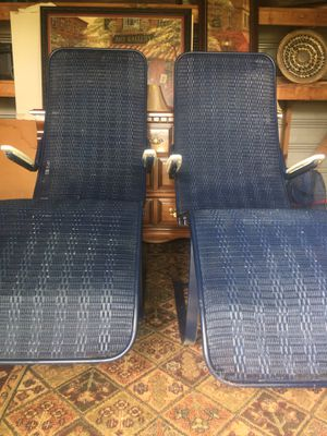 Pool lake or patio chairs for Sale in Tallassee, AL