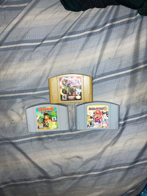 N64 Games for Sale in Fairfield, CA