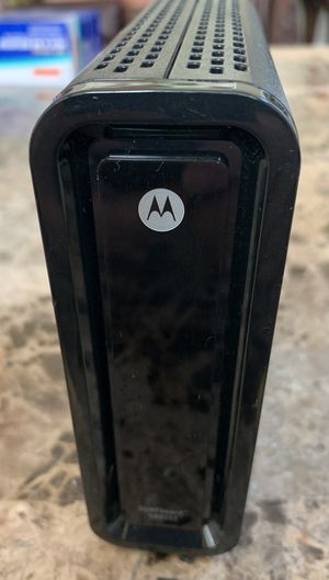 Motorola Surfboard SB6141 DOCSIS 3.0 High-Speed Cable Modem for Comcast for Sale in Kent, WA
