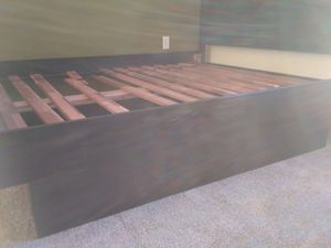 Bed frame with drawer for Sale in Bellevue, WA