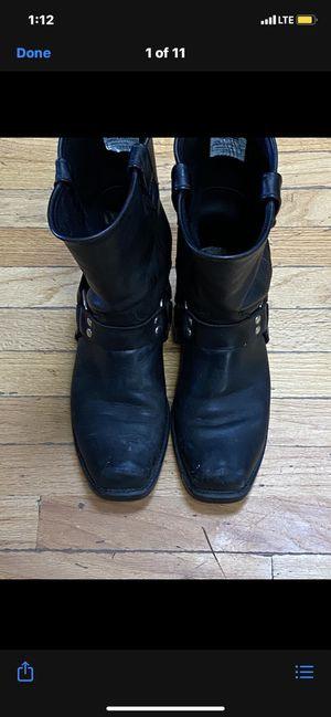 Harness boot, Double H Brand, Mens size 10 D, $25 for Sale in Norwell, MA