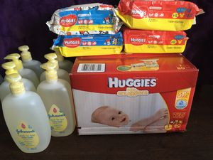 Huggies size 1 Baby Bundle for Sale in Lewisville, TX