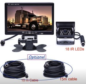 7 LCD Wire Rear View Monitor Car Reversing Back Up Camera for Car RV Buss Truck Van for Sale in Toledo, OH