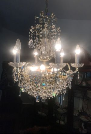 Crystal chandelier for Sale in Upland, CA