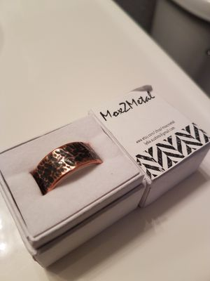 Mens wedding ring size 10. Never worn, brand new in box for Sale in Colorado Springs, CO