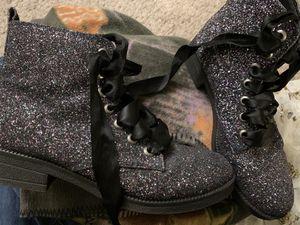 Glitter combat boots for Sale in Murfreesboro, TN