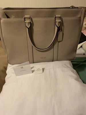 Coach Metropolitan bag in Crossgrain Leather - Grey Birch for Sale in Seattle, WA