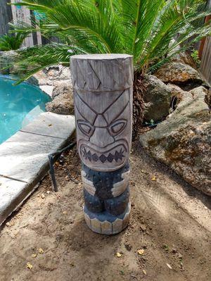 3 foot resin Tiki for Sale in Clovis, CA