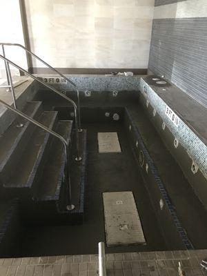 We prepare pools for plastering for Sale in Dallas, TX