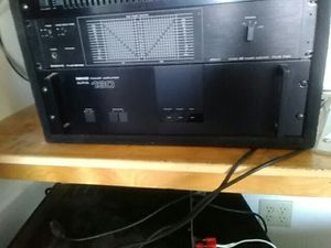 Nikko Alpha 130 - 240 watt Rms rack mount audiophile stereo power amplifier for Sale in Port St. Lucie, FL