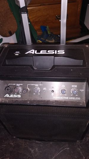 Alesis Transactive Wireless PA System Bluetooth W/Microphone for Sale in Saint Paul, MN