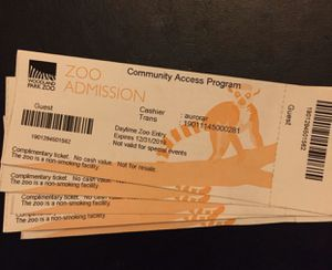 Woodland Park Zoo Seattle - tickets for Sale in Kirkland, WA