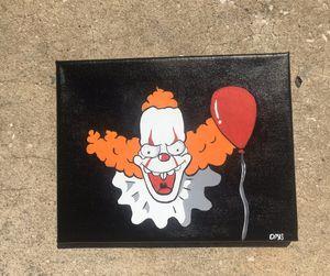 krusty x IT painting for Sale in Brandon, FL