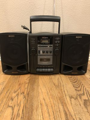 Sony Boombox ? CD player for Sale in La Center, WA