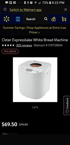 Bread maker for Sale in Brooklyn, NY