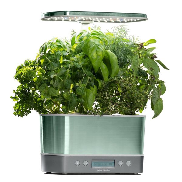 Brand New AeroGarden Harvest Elite with 6 Gourmet Herb Seed Pod Kit