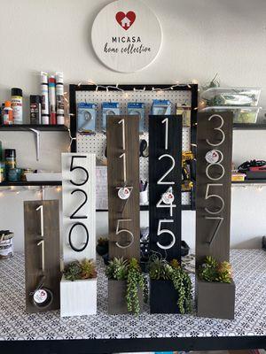 Custom Address Planter for Sale in Sanford, FL