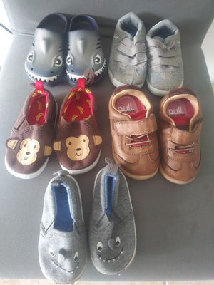 Baby boy shoes size 5 all brand name all like new all for $20 for Sale in Miami, FL