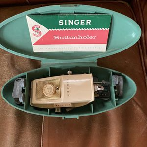 Vintage Singer Buttonholer/Straight Stitch Accessory for Sale in Plainfield, IL