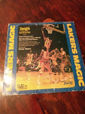 LAKERS MAGIC LP VINYL RECORD for Sale in Riverside, CA