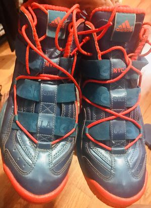 Adidas waterproof crazy 8 men sneakers size 12 Knicks Mets nyc la for Sale in The Bronx, NY