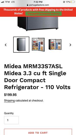 Midea mini fridge for Sale in Tacoma, WA