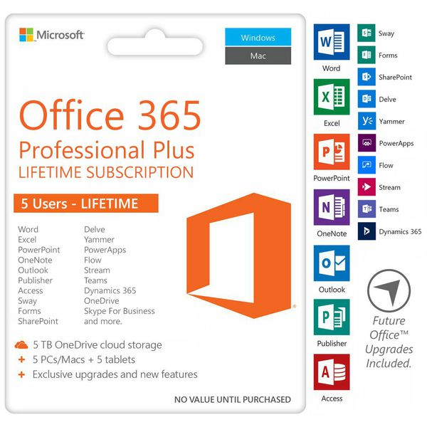 Microsoft office 365 professional plus 2019