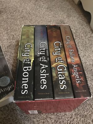 The Mortal Instruments Book Series + Book one of The Infernal Devices for Sale in Fort Spring, WV