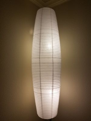 Extra Tall Japanese-Style Floor Lamp for Sale in Austin, TX