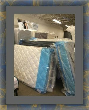 Twin $80 Full $90 mattress with box spring for Sale in Alexandria, VA