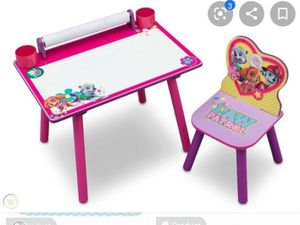 Kids Paw Patrol table with chair for Sale in Long Beach, CA