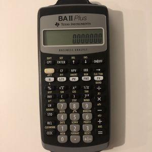 BA II Calculator for Sale in Chelsea, MA